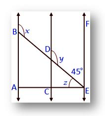 parallel and transversal