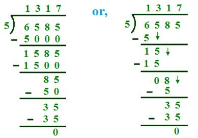 Divide and Find the Quotient