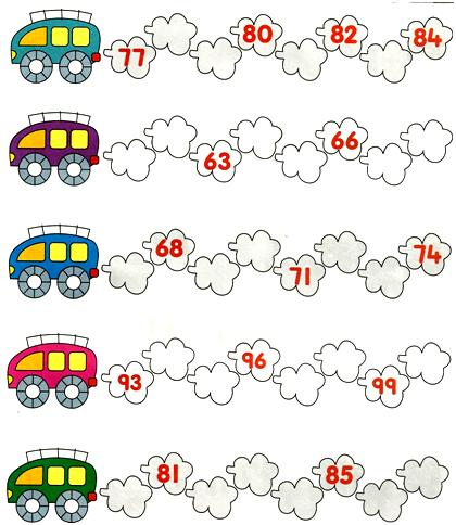 Reading writing and ordering numbers to 1000 worksheets for toddlers