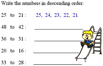 how to put numbers in ascending order in excel