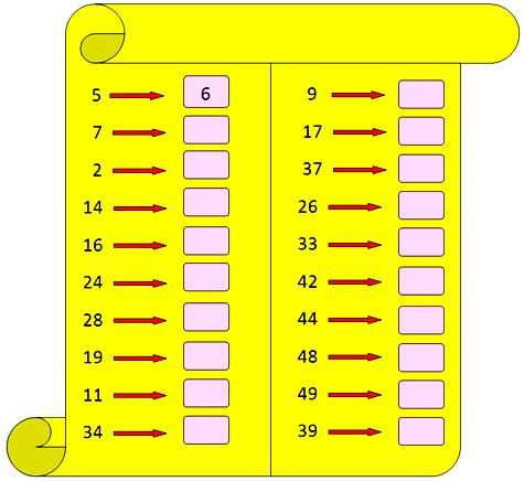 what comes after preschool number that comes after on numbers worksheets on 739