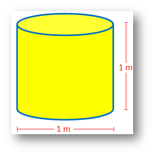 A Cylindrical Container