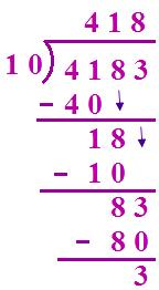 Division by 10 and 100 and 1000 |Division Process|Facts about ...