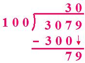 A Number is Divided by 100