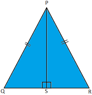 Altitude of an Equilateral Triangle is also a Median
