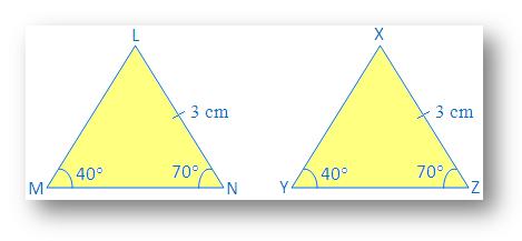 Angle Angle Side Congruence