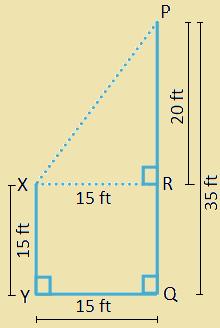 Application on Pythagoras' Theorem