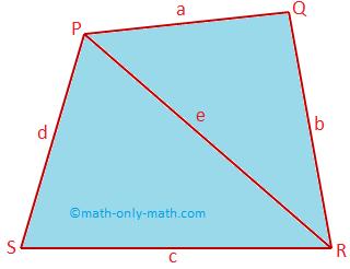 Area and Perimeter of Quadrilateral