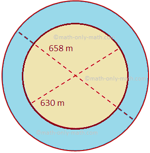 Area of a Circular Path