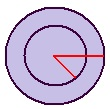 area of the ring,area of a concentric circles
