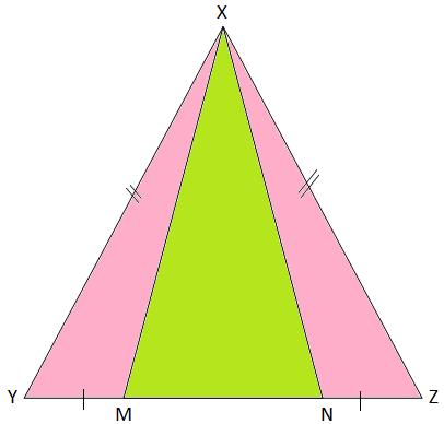 Base of an Isosceles Triangle