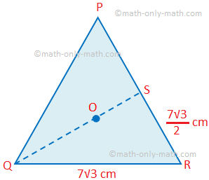 Circumcentre of the Equilateral Triangle