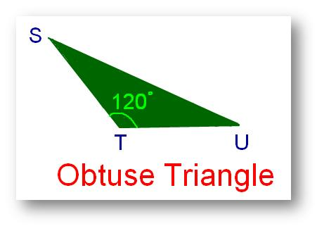 is obtuse or more than 90° but less than 180° is called an obtuse ...