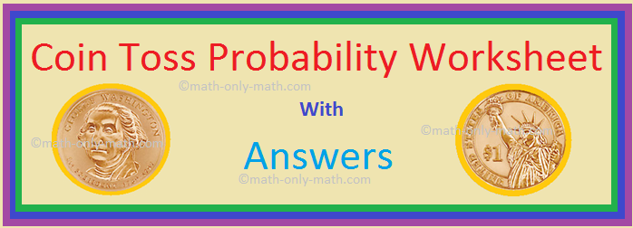 Coin Toss Probability Worksheet