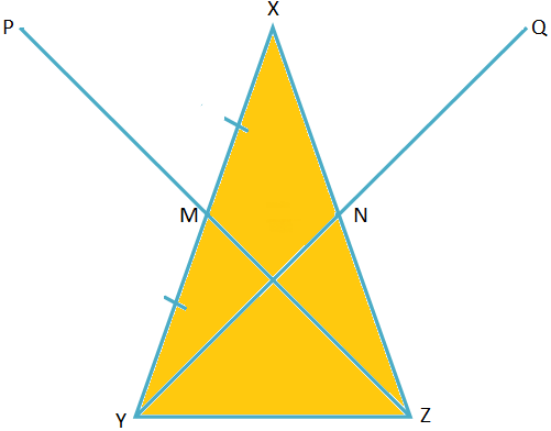 Collinear Points Proved by Midpoint Theorem