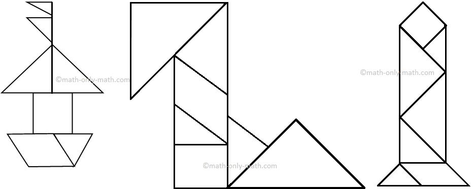 Color the Tangram Figures