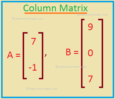 Column Matrix