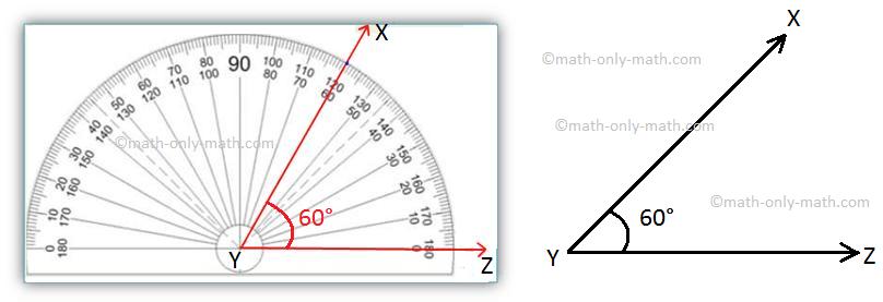 Construction of 60 Degree Angle