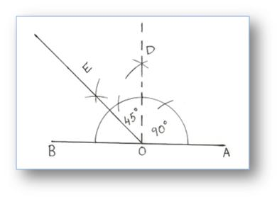 how to use ti-84 to draw angle