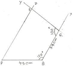 Steps of Construction of Quadrilaterals
