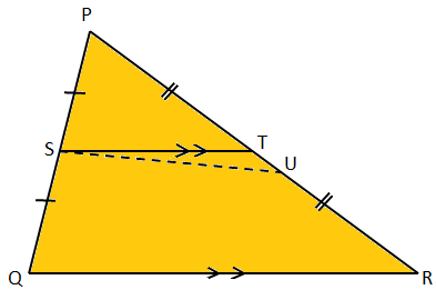 Converse of Midpoint Theorem