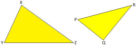 Corrosponding Angles of Similar Triangles