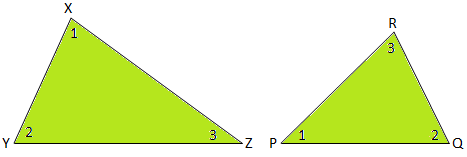 Corrosponding Sides of Similar Triangles
