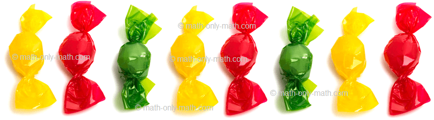 Count Number Eight - Candies