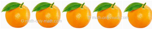 Count Number Five - Oranges