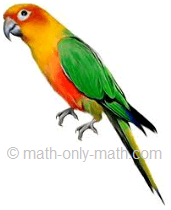Count Number One Bird