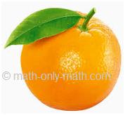 Count Number One Orange