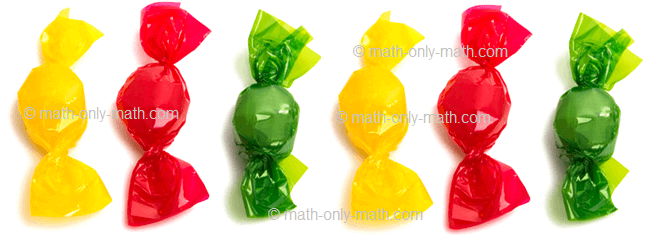 Count Number Six - Candies