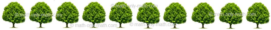 Count Number Ten - Trees