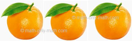 Count Number Three - Oranges