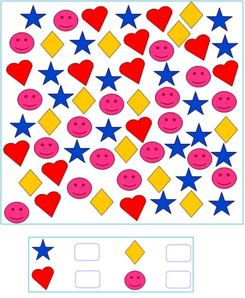 Printables Counting Objects Worksheets worksheet on numbers counting the objects write for numbers