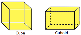 Cube and Cuboid