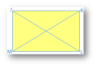 Diagonals of a Rectangle are Equal