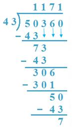 division by two digit numbers