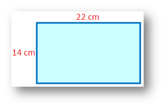 Dimensions of a Rectangular Piece