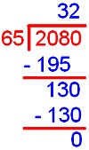 Dividing Decimal by a Whole Number