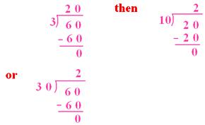 Learn Division by 20, 30, 40