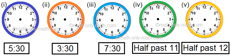 Draw the Hands on the Clock Faces