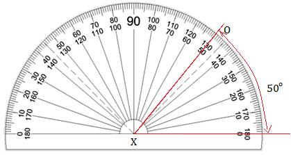 Drawing an Angle