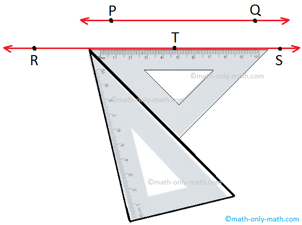 Drawing Parallel Lines with Set-Squares