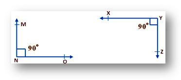 equal angles