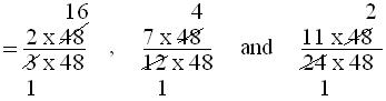 Examples on Conversion of Fractions