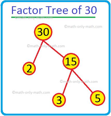 Factor Tree of 30