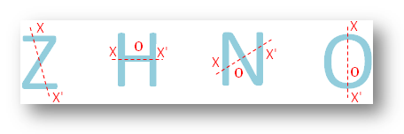 Figures Exhibiting Point Symmetry
