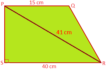 Find the Area of a Trapezium