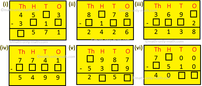 Find the Missing Numbers